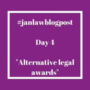 Day 4 - Alternative Legal Awards