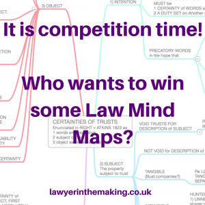 Competition Time | Law Mind Maps