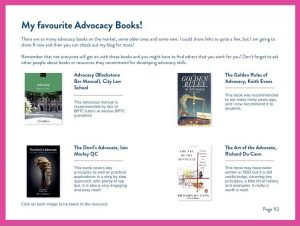 Ebook Sneak Peek - Advocacy Books