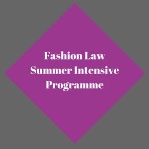 Fashion Law Summer Intensive Program
