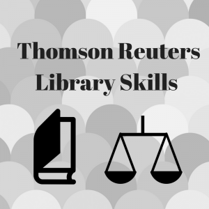 Thomson Reuters | Library Skills