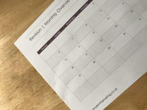 FREE April Revision Schedule PDF